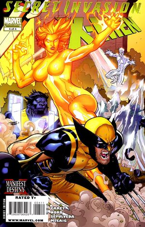 Secret Invasion: X-Men (Vol 1 2009) #4 CVR A