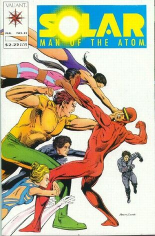 Solar: Man of the Atom (Vol 1 1991) #11 CVR A