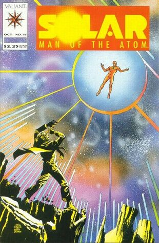 Solar: Man of the Atom (Vol 1 1991) #14 CVR A