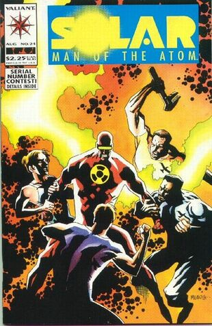 Solar: Man of the Atom (Vol 1 1991) #24 CVR A