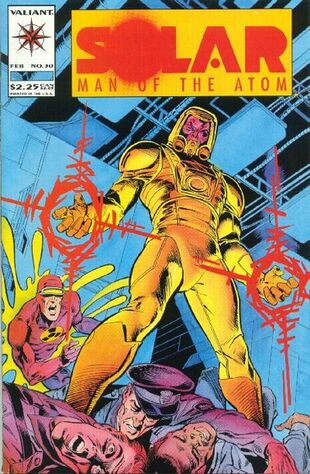 Solar: Man of the Atom (Vol 1 1991) #30 CVR A