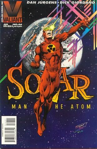 Solar: Man of the Atom (Vol 1 1991) #46 CVR A