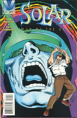 Solar: Man of the Atom (Vol 1 1991) #49 CVR A