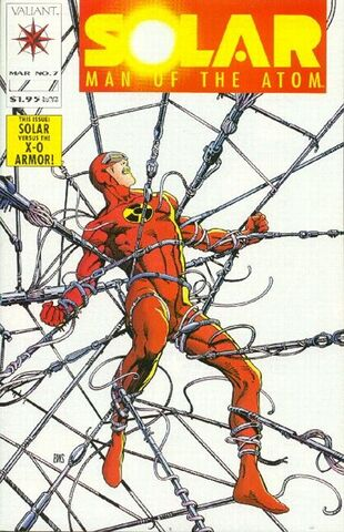 Solar: Man of the Atom (Vol 1 1991) #7 CVR A