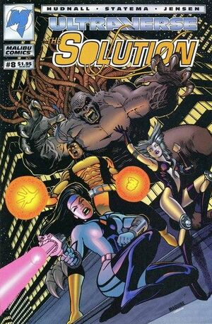 Solution, The (Vol 1 1993) #8 CVR A