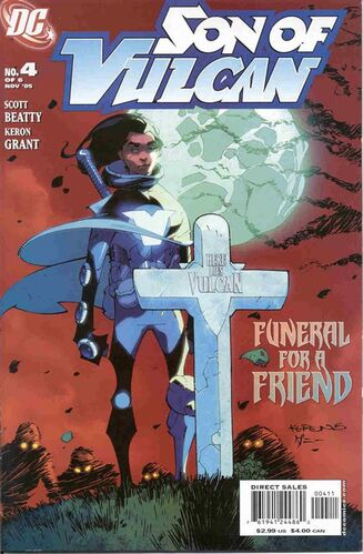 Son of Vulcan (Vol 1 2005) #4 CVR A