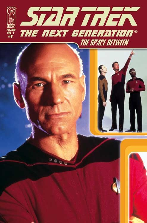 Star Trek: The Next Generation - The Space Between (Vol 1 2007) #1 CVR B Photo Cover