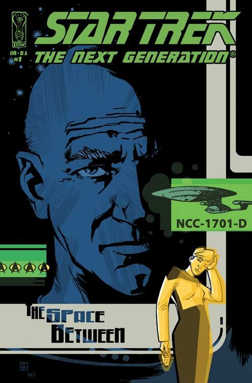 Star Trek: The Next Generation - The Space Between (Vol 1 2007) #1 CVR RI-A Howard Variant
