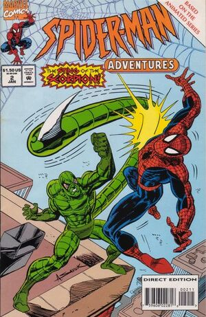 Spider-Man Adventures (Vol 1 1994) #2 CVR A