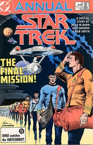 Star Trek Annual (Vol 1 1986) #2 CVR A