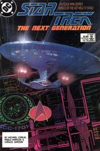Star Trek: The Next Generation - Mini Series (Vol 1 1988) #1 CVR A
