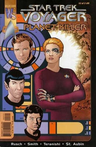 Star Trek: Voyager - Planet Killer (Vol 1 2001) #2 CVR A