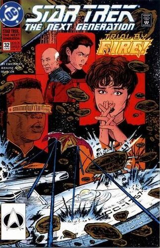 Star Trek: The Next Generation (Vol 1 1989) #32 CVR A