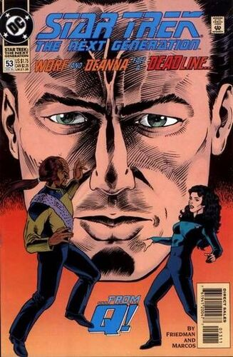 Star Trek: The Next Generation (Vol 1 1989) #53 CVR A