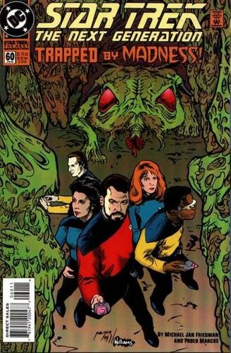 Star Trek: The Next Generation (Vol 1 1989) #60 CVR A