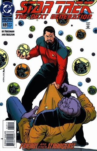 Star Trek: The Next Generation (Vol 1 1989) #69 CVR A