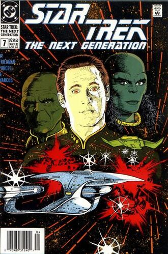 Star Trek: The Next Generation (Vol 1 1989) #7 CVR A