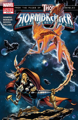 Stormbreaker: The Saga of Beta Ray Bill (Vol 1 2005) #3 CVR A