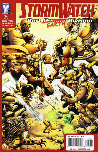 StormWatch: Post Human Division (Vol 1 2007) #24 CVR A