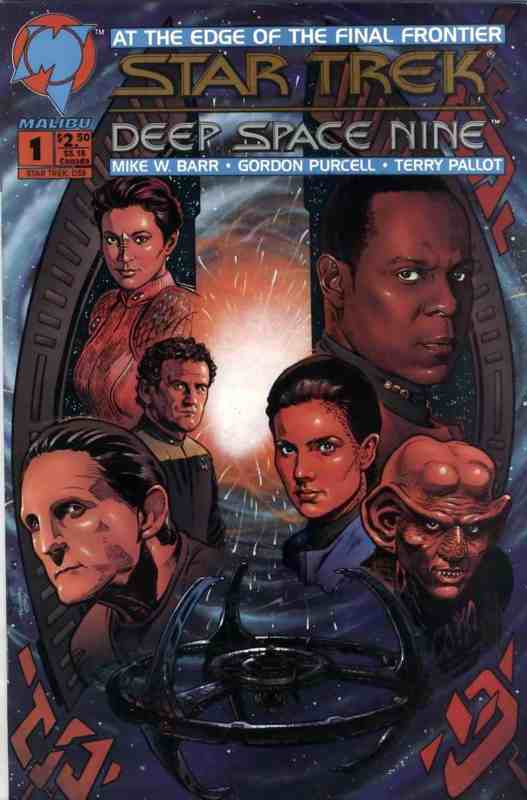 Star Trek: Deep Space Nine (Vol 1 1993) #1 CVR A