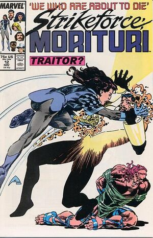 Strikeforce: Morituri (Vol 1 1986) #12 CVR A