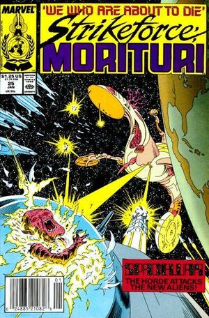 Strikeforce: Morituri (Vol 1 1986) #25 CVR A