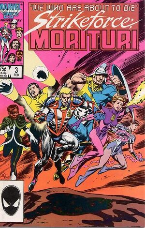 Strikeforce: Morituri (Vol 1 1986) #3 CVR A