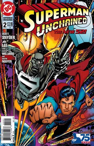 Superman Unchained #2 Bogdanove Variant