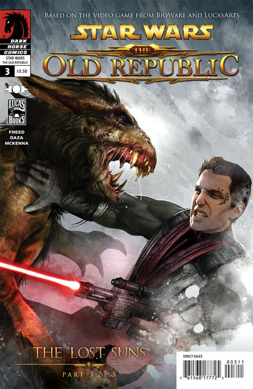Star Wars - The Old Republic (Vol 2 2011) #3 CVR A