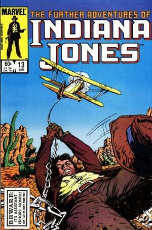 Further Adventures of Indiana Jones (Vol 1 1983) #13 CVR A