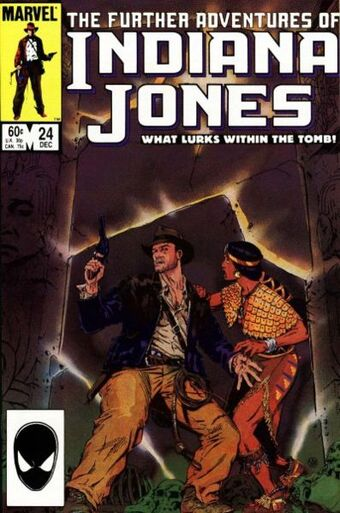 Further Adventures of Indiana Jones (Vol 1 1983) #24 CVR A