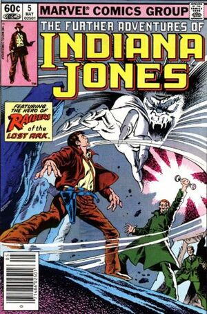 Further Adventures of Indiana Jones (Vol 1 1983) #5 CVR A