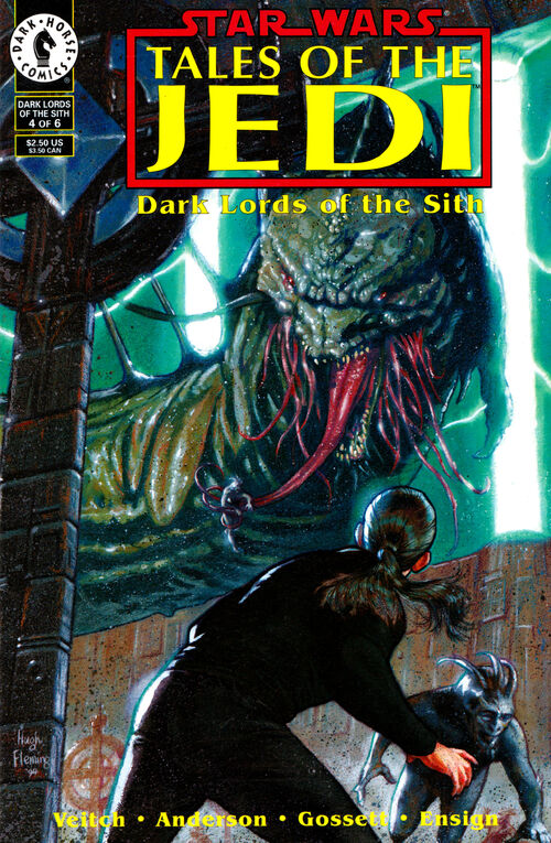 Star Wars - Tales of the Jedi: Dark Lords of the Sith (Vol 1 1994) #4 CVR A