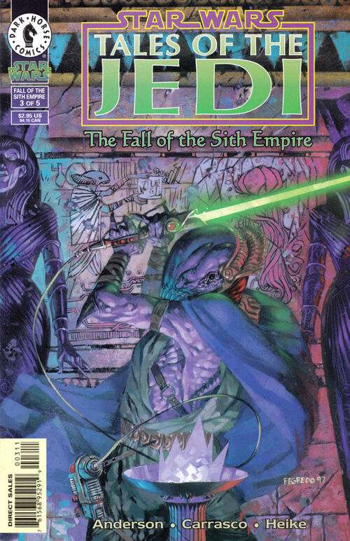Star Wars - Tales of the Jedi: The Fall of the Sith Empire (Vol 1 1997) #3 CVR A