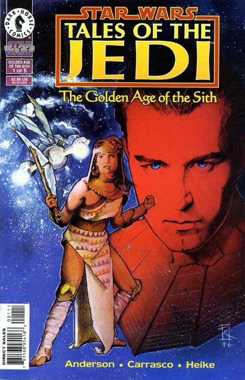 Star Wars - Tales of the Jedi: The Golden Age of the Sith (Vol 1 1996) #1 CVR A