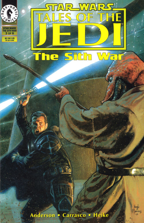 Star Wars - Tales of the Jedi: The Sith War (Vol 1 1995) #3 CVR A