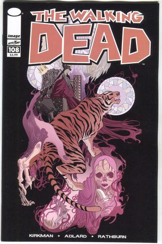 Walking Dead (Vol 1 2013) #108 CVR B 15th Anniversary, Rios Color Variant