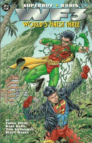 World's Finest Three (Vol 1 1996) #2 CVR A