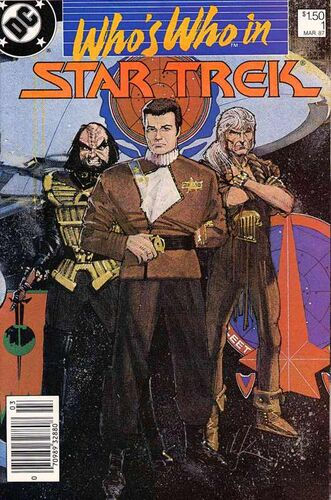Who's Who in Star Trek (Vol 1 1987) #1 CVR A