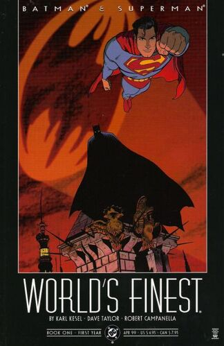 Batman & Superman: World's Finest (Vol 1 1999) #1 CVR A