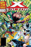 X-Factor Annual (Vol 1 1993) #8 CVR A Polybag W/Trading Card
