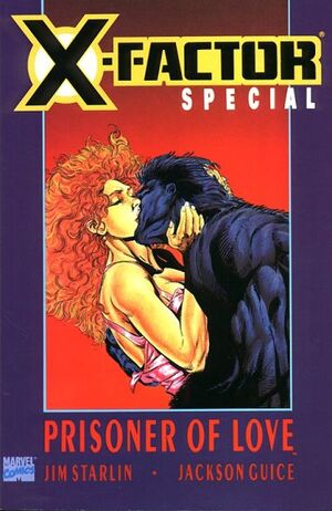 X-Factor Prisoner of Love (Vol 1 1990) #1 CVR A