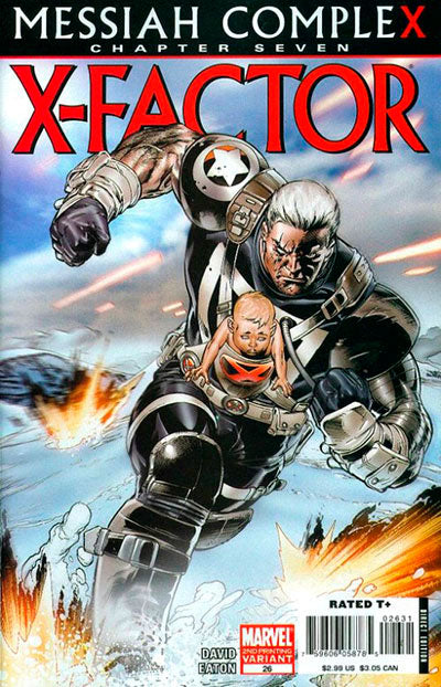 X-Factor (Vol 3 2008) #26 2nd Print