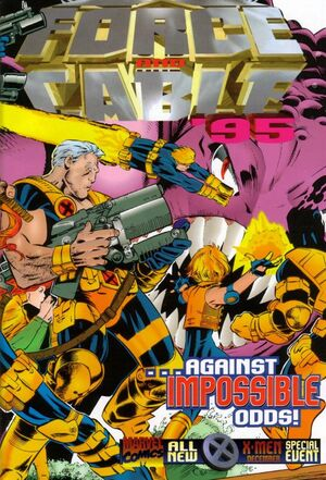 X-Force and Cable Annual (Vol 1 1995) #1 CVR A