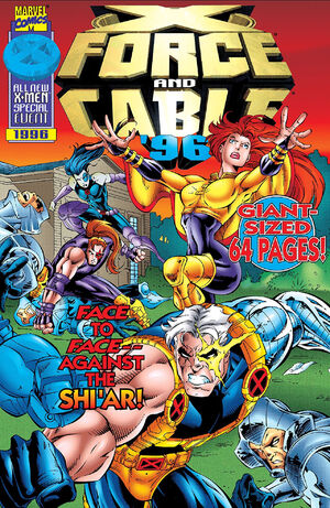 X-Force and Cable Annual (Vol 1 1996) #1 CVR A