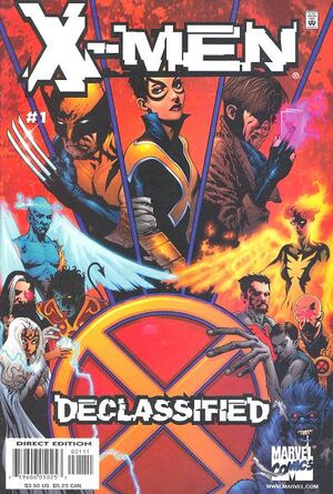 X-Men: Declassified (Vol 1 2000) #1 CVR A