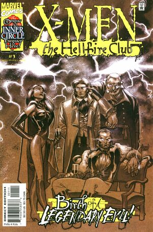 X-Men: Hellfire Club (Vol 1 2000) #1 CVR A