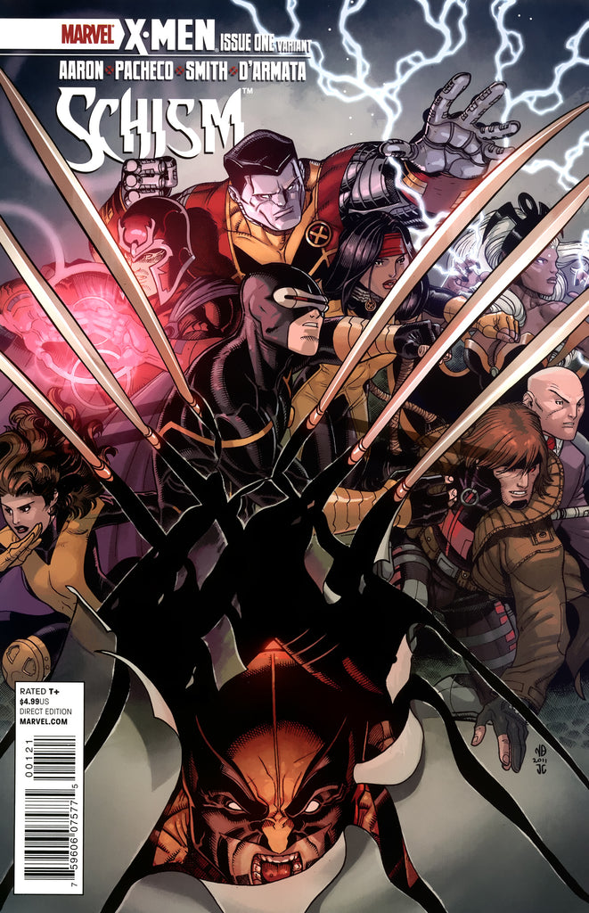 X-Men: Schism (Vol 1 2011) #1 CVR B Nick Bradshaw