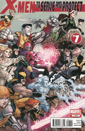 X-Men: To Serve and Protect (Vol 1 2011) #1 CVR A