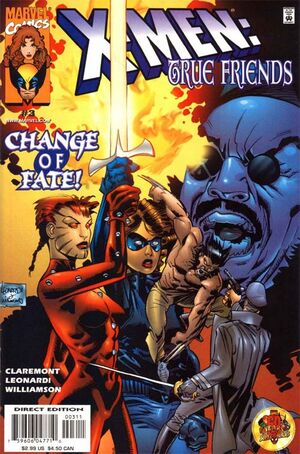 X-Men True Friends (Vol 1 1999) #3 CVR A